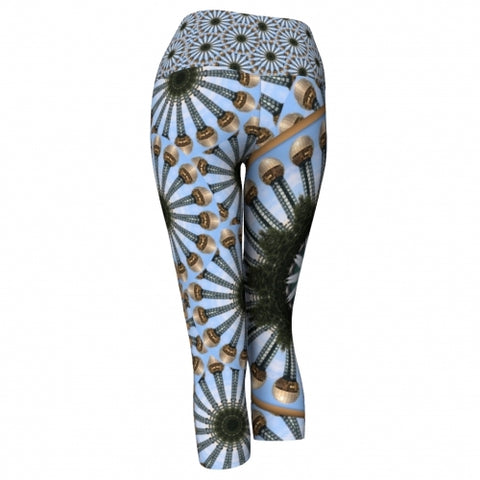 Apollo Knoxville Yoga Capris back