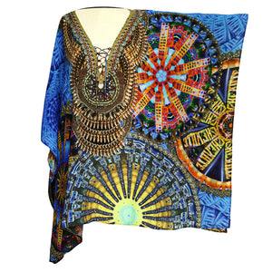 'Arabesque' Asheville Jeweled Kaftan - front