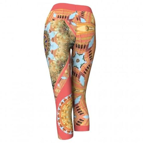 Asterina Asheville Yoga Capris back