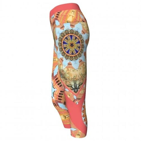 Asterina Asheville Yoga Capris side