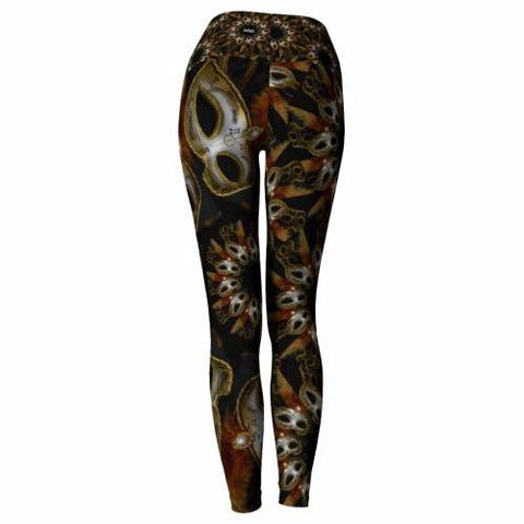'Bacchanal' Masquerade Leggings - back