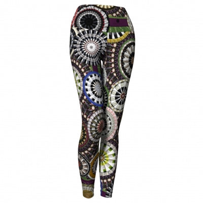 'Bacchus' Winery Yoga Leggings