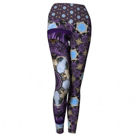 Charybdis Seaside Yoga Leggings front