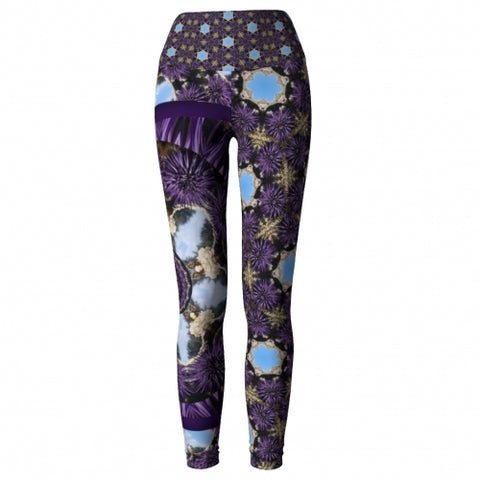 'Charybdis' Seaside Yoga Leggings