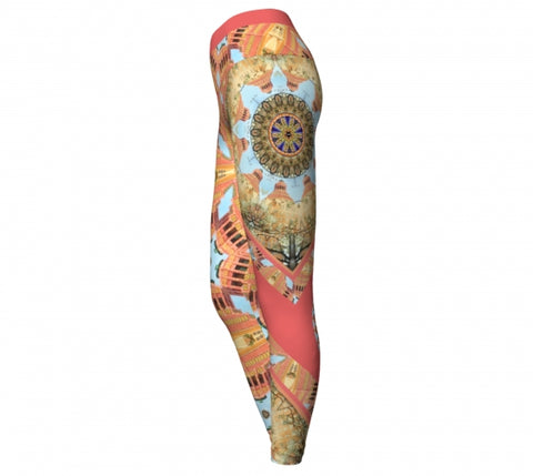 Choriaster Asheville Yoga Leggings side