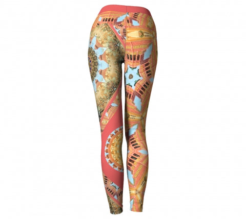 Choriaster Asheville Yoga Leggings back