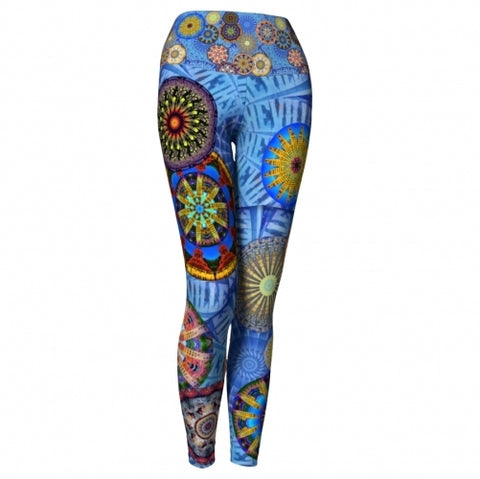 'Downtown' Asheville Yoga Leggings