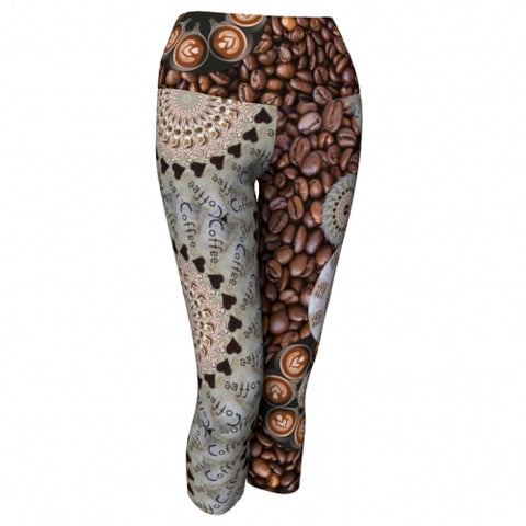 Macchiato Coffee Yoga Capris