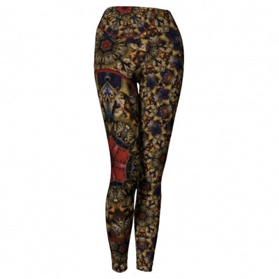 'Eutychia' Masquerade Yoga Leggings