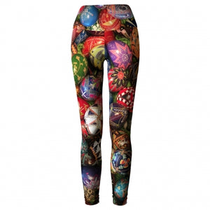 'Filigree' Asheville Yoga Leggings - front