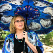 Custom Umbrella from your photo lWendy Newman Designs Dog design