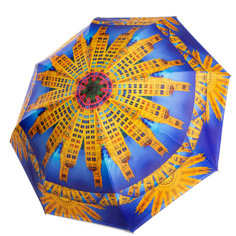 Asheville umbrella Wendy Newman Designs outside