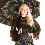 'Coriander' Spice  Umbrella Wendy Newman Designs neon hemp
