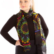 Black Pepper spice scarf Wendy Newman Designs wrap tie