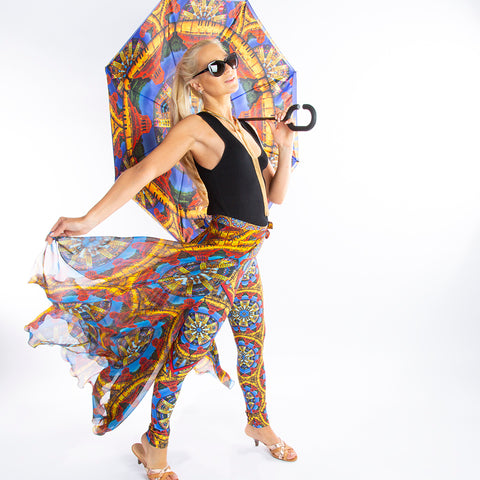 Affinity Asheville Umbrella, leggings and skirt Wendy Newman Designs