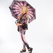 Parisian World Tour Reverse Umbrella Wendy Newman Designs- side