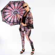 Parisian World Tour Reverse Umbrella Wendy Newman Designs -leggings-kimono