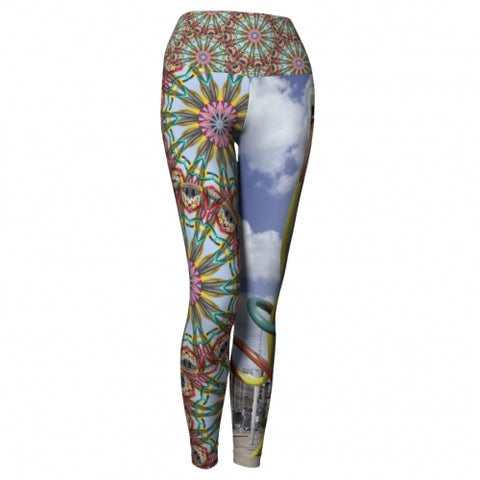 'Milan' World Tour Yoga Leggings front