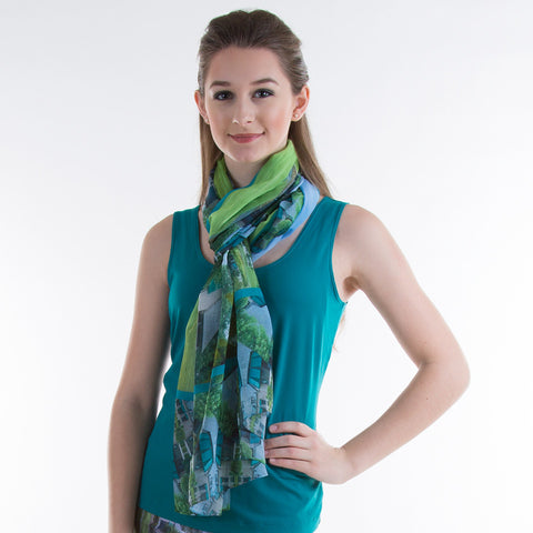 'Camarilla' Biltmore Forest Country Club Scarf