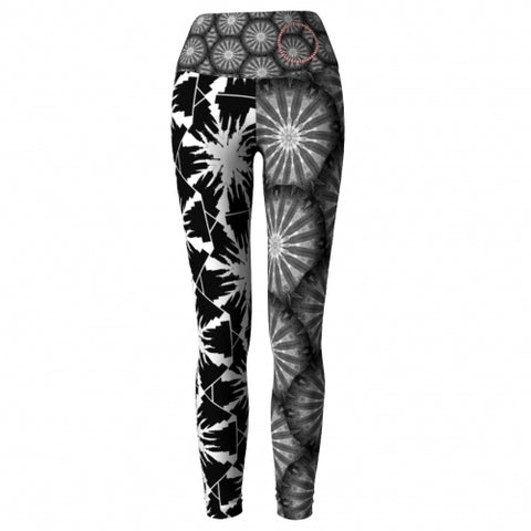 'NYC' World Tour Yoga Leggings front/2 Wendy Newman Designs