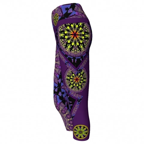 'Phylactery' Asheville Yoga Capris - side