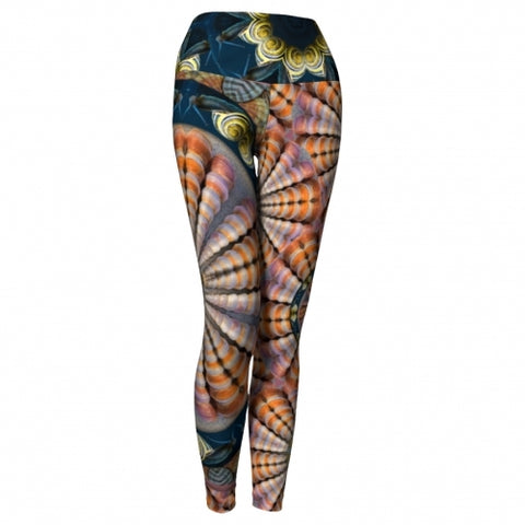 Poseidon Seaside Yoga Leggings
