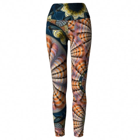 Poseidon Seaside Yoga Leggings front