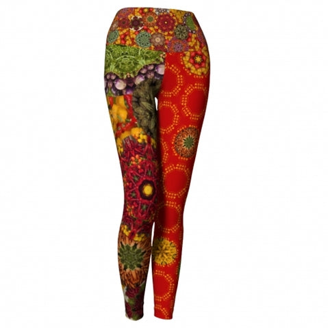 Radicchio Chow Chow Yoga Leggings