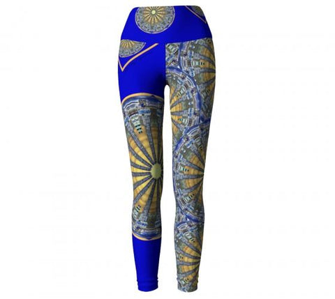 Rarefaction Asheville Yoga Leggings front