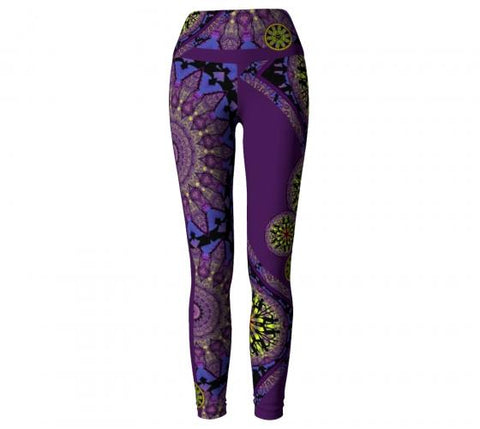 Shockra Asheville Yoga Leggings front