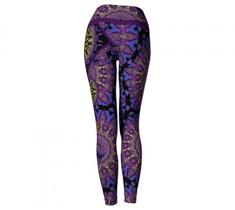 Shockra Asheville Yoga Leggings back