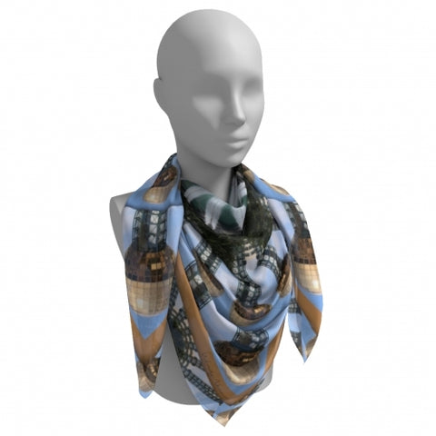 Solar Knoxville Scarf tied