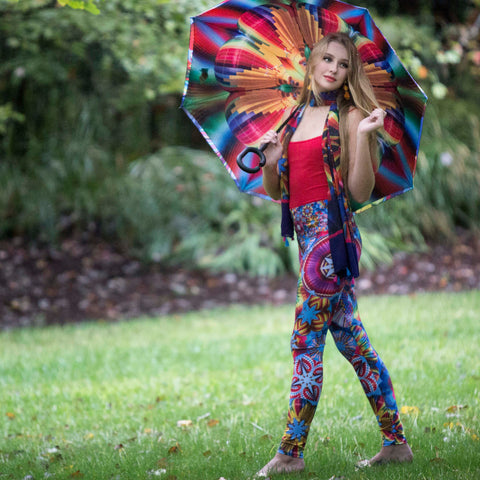 Fiesta Balloon Leggings Wendy Newman Designs