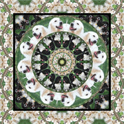 Wendy Newman Designs custom dog scarf square 2