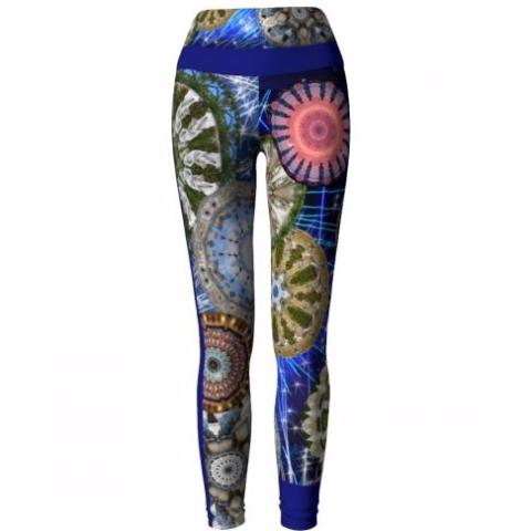 'Luminary' Vizcaya Yoga Leggings - front