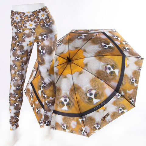 'Custom Umbrella' Custom Designs and leggings