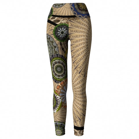 Cosmopolite Charleston Yoga Leggings front