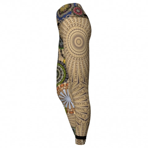 Cosmopolite Charleston Yoga Leggings side