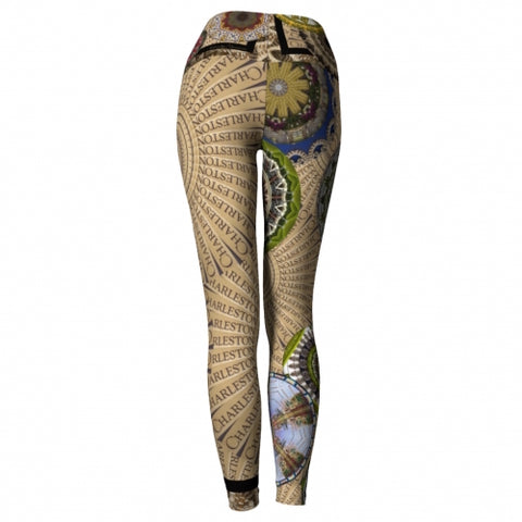 Cosmopolite Charleston Yoga Leggings back