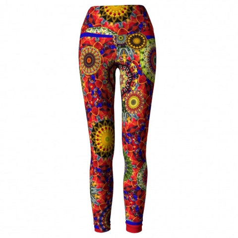 Ecstasy Charleston Yoga Leggings (front)