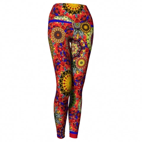 Ecstasy Charleston Yoga Leggings