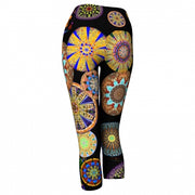 Elation Asheville Yoga Capris back