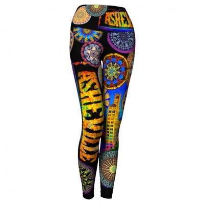 Innervation Asheville Yoga Leggings front