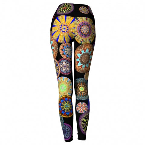Innervation Asheville Yoga Leggings back