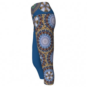 Mellifluence Charleston Yoga Capris (side)