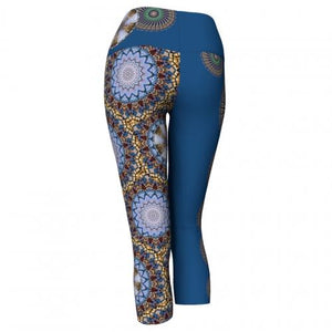 Mellifluence Charleston Yoga Capris (back)