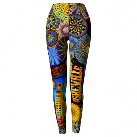 Radiance Asheville Yoga Leggings back