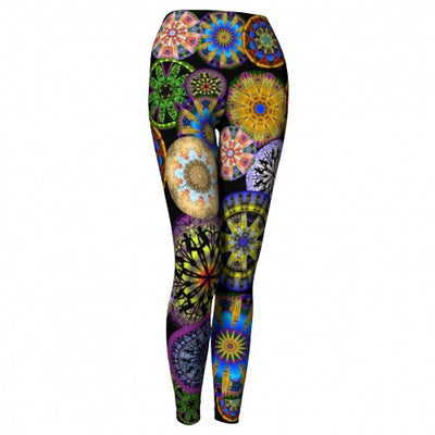 Radiance Asheville Yoga Leggings front