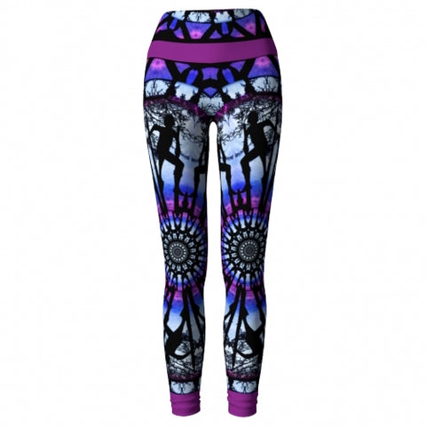 Thaumaturgy Asheville Yoga Leggings front