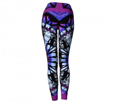 Thaumaturgy Asheville Yoga Leggings back